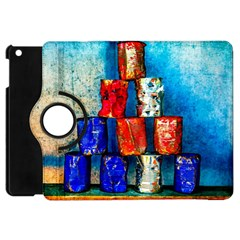 Soup Cans   After The Lunch Apple Ipad Mini Flip 360 Case