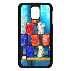 Soup Cans   After The Lunch Samsung Galaxy S5 Case (black) by FunnyCow