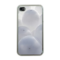 White Toy Balloons Apple Iphone 4 Case (clear) by FunnyCow