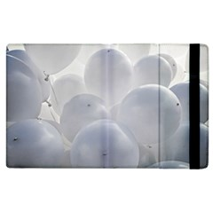 White Toy Balloons Apple Ipad 3/4 Flip Case by FunnyCow