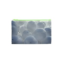 White Toy Balloons Cosmetic Bag (xs)