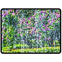 Lilacs Of The First Water Double Sided Fleece Blanket (large)