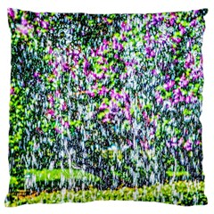 Lilacs Of The First Water Large Flano Cushion Case (one Side)