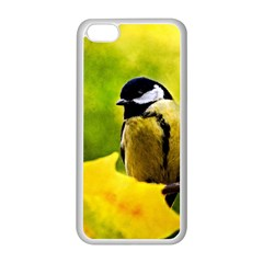 Tomtit Bird Dressed To The Season Apple Iphone 5c Seamless Case (white) by FunnyCow