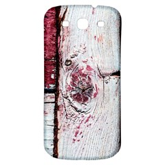 Abstract Art Of Grunge Wood Samsung Galaxy S3 S Iii Classic Hardshell Back Case
