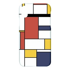 Neoplasticism Style Art Apple Iphone X Hardshell Case by FunnyCow