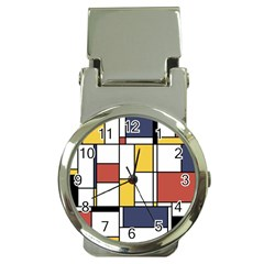De Stijl Abstract Art Money Clip Watches
