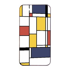 De Stijl Abstract Art Apple Iphone 4/4s Seamless Case (black) by FunnyCow