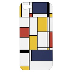 De Stijl Abstract Art Apple Iphone 5 Hardshell Case by FunnyCow