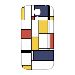 De Stijl Abstract Art Samsung Galaxy S4 I9500/i9505  Hardshell Back Case
