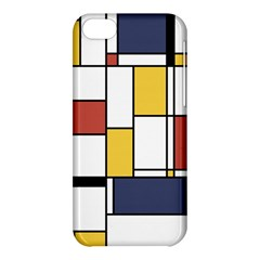 De Stijl Abstract Art Apple Iphone 5c Hardshell Case by FunnyCow