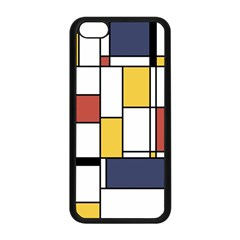 De Stijl Abstract Art Apple Iphone 5c Seamless Case (black) by FunnyCow