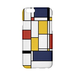 De Stijl Abstract Art Apple Iphone 6/6s Hardshell Case by FunnyCow