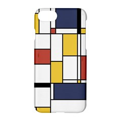 De Stijl Abstract Art Apple Iphone 7 Hardshell Case by FunnyCow