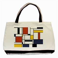 Abstract Art Of Avant Garde Basic Tote Bag
