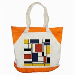 Neoplasticism Abstract Art Accent Tote Bag