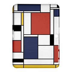 Neoplasticism Abstract Art Samsung Galaxy Tab 4 (10 1 ) Hardshell Case
