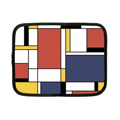 Abstract Art Of De Stijl Netbook Case (small)
