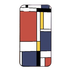 Abstract Art Of De Stijl Apple Iphone 4/4s Seamless Case (black) by FunnyCow