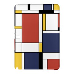 Abstract Art Of De Stijl Samsung Galaxy Tab Pro 10 1 Hardshell Case