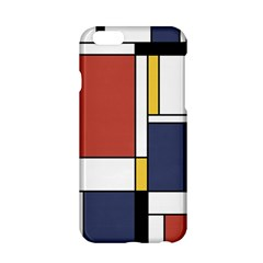 Abstract Art Of De Stijl Apple Iphone 6/6s Hardshell Case by FunnyCow