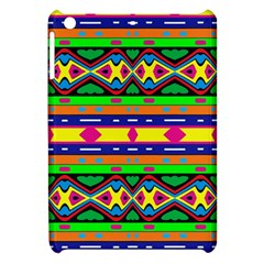 Distorted Colorful Shapes And Stripes                                   Apple Ipad Mini Flip Case