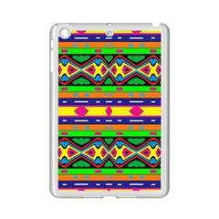 Distorted Colorful Shapes And Stripes                                   Apple Ipad 3/4 Case (white)