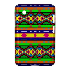 Distorted Colorful Shapes And Stripes                                   Apple Iphone 5c Hardshell Case by LalyLauraFLM