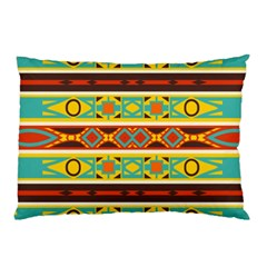 Ovals Rhombus And Squares                                          Pillow Case