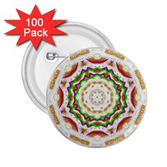 Fauna In Bohemian Midsummer Style 2 25  Buttons (100 Pack)
