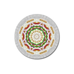Fauna In Bohemian Midsummer Style Magnet 3  (round) by pepitasart