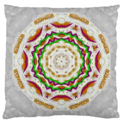 Fauna In Bohemian Midsummer Style Large Cushion Case (one Side) by pepitasart
