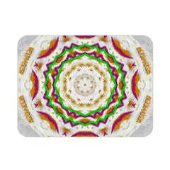Fauna In Bohemian Midsummer Style Double Sided Flano Blanket (mini)  by pepitasart