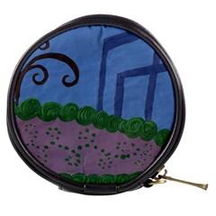 Purple Shoe Mini Makeup Bags