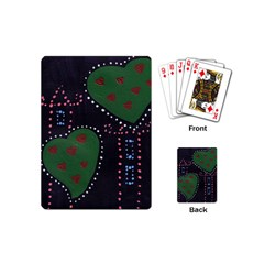 Christmas Hearts Playing Cards (mini)