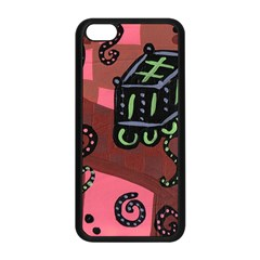 Floating Bed Apple Iphone 5c Seamless Case (black)