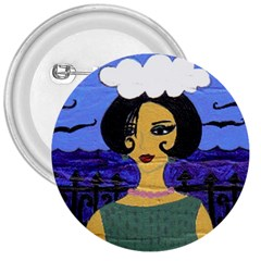 Girl By The Sea 3  Buttons