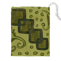 Four Squares Drawstring Pouches (xxl)