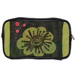 Flower Spitting Out Pink Pollen Toiletries Bags