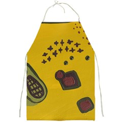 Hairdryer Easter Egg Full Print Aprons