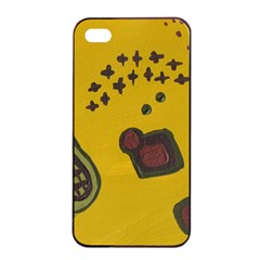 Hairdryer Easter Egg Apple Iphone 4/4s Seamless Case (black)