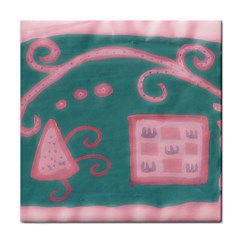 A Pink Dream Face Towel by snowwhitegirl