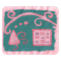 A Pink Dream Double Sided Flano Blanket (small)