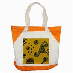 Indian Violin Accent Tote Bag
