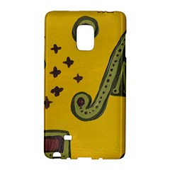 Indian Violin Samsung Galaxy Note Edge Hardshell Case