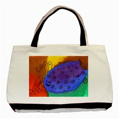 Whale And Eggs Basic Tote Bag