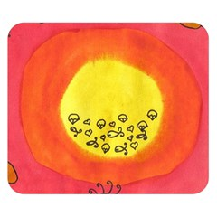 Red Sun Double Sided Flano Blanket (small)