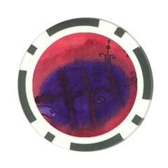 Sea Horses Poker Chip Card Guard (10 Pack)