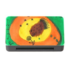 Pirana Eating Flower Memory Card Reader With Cf