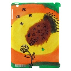 Pirana Eating Flower Apple Ipad 3/4 Hardshell Case (compatible With Smart Cover)